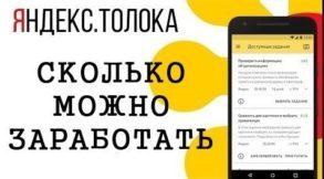Cколько можно заработать на Яндекс Толока