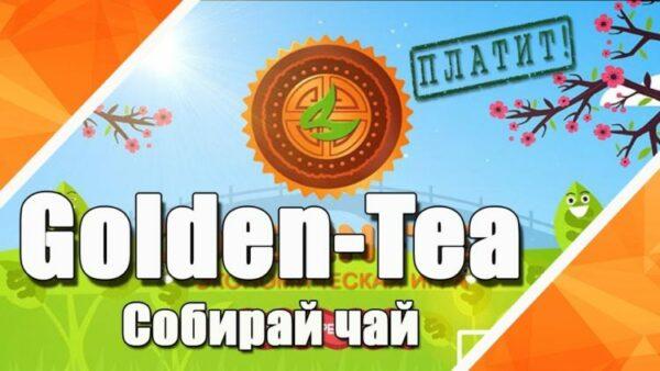 Игра с выводом денег Golden-Tea. Описание, доход, отзывы.